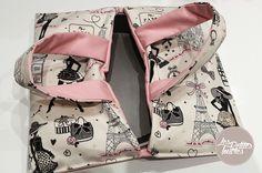 Tutoriel Couture Sac à Tarte - Découvrez comment réaliser facilement un sac à tarte pour transporter facilement vos délices salés ou sucrés. #couture #tuto