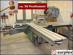 Holzbearbeitungsmaschinen Versteigerung