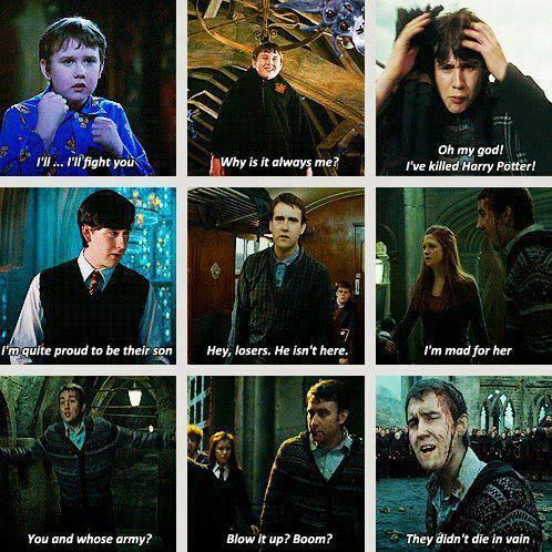 Neville's most memorable lines.