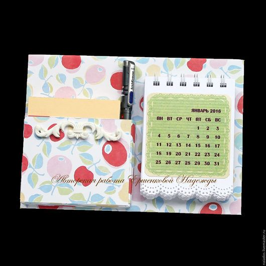 Магниты ручной работы. Ярмарка Мастеров - ручная работа. Купить Магнит органайзер-календарь на холодильник. Handmade. Разноцветный, магниты на холодильник