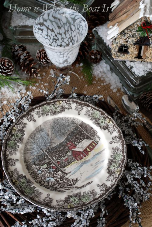Johnson Brothers Christmas Dishes