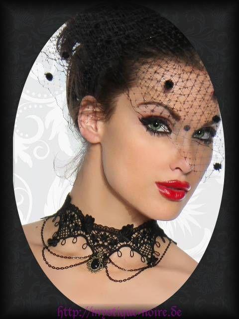 gothic halsband spitze schwarz viktorianisch burlesque lolita rokoko choker fantasy victorian. Black Bedroom Furniture Sets. Home Design Ideas