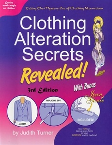 Show details for Clothing Alteration Secrets Revealed  clip on how to hem your jeans