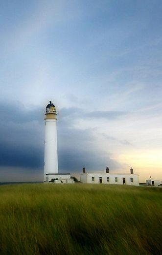 Barns Ness Lighthouse, Scotland.  By Rod Goodwin.