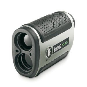 Bushnell Tour V2 with Pinseeker Who needs a Caddy? £239.00 Advanced laser rangefinder  Helps you to get the range to the pin and therefore use the right club.  Allowed in competition play (check this - I am not a golfer)  CR2 battery - always carry a spare about 2 quid on Amazon. Has no problem picking out the flag.  Go on what are you waiting for? http://www.amazon.co.uk/gp/product/B004UADTW2/ref=as_li_ss_tl?ie=UTF8=thesixminstr-21=as2=1634=19450=B004UADT