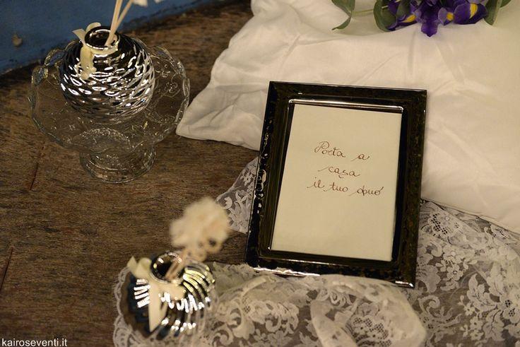 Allestimento per le bomboniere exclusive | Wedding designer & planner Monia Re - www.moniare.com | Organizzazione e pianificazione Kairòs Eventi -www.kairoseventi.it | Foto Photo27