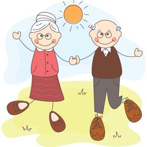 Рисунок к дню пожилого человека 1 класс, пожелания удачи открытка