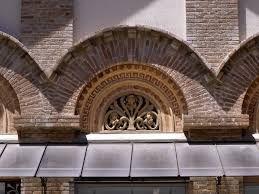 Museu d'Art de Cerdanyola Façana principal. Arcs