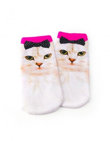 Skarpetki Kocia Księżniczka www.panikota.pl #panikota #skarpetki #koty