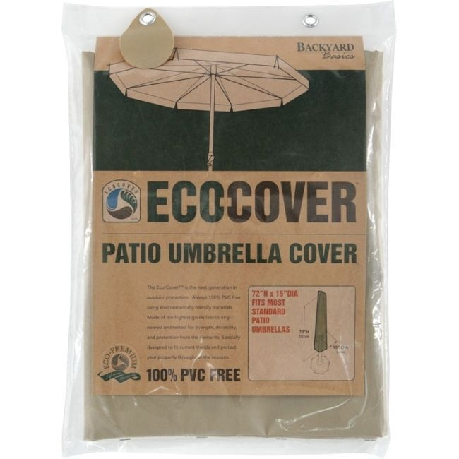 Mr. Bar.B.Q Eco-Cover Patio Umbrella Cover, #07306GD, Patio Furniture