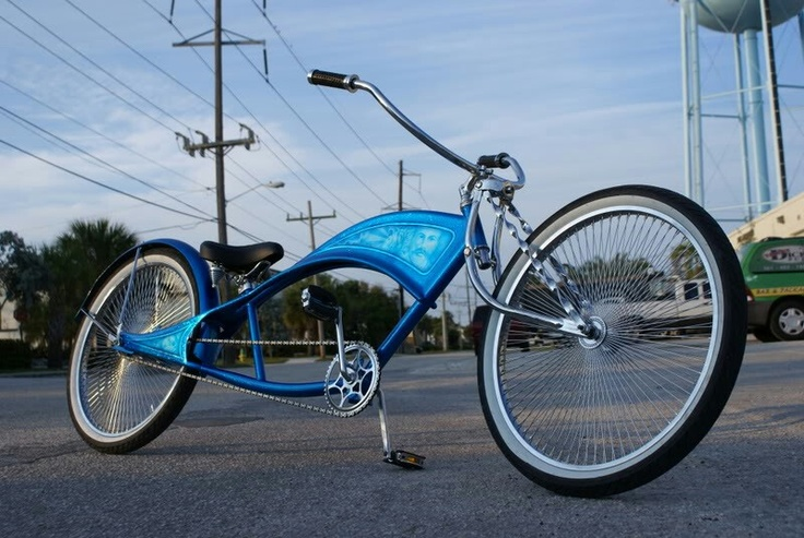 Blue Stretch Beach Cruiser My Beach Cruiser Bike And A