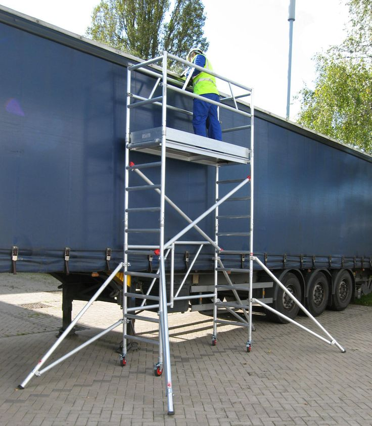 Portable Scaffolding Platform : Best ideas about portable scaffolding on pinterest