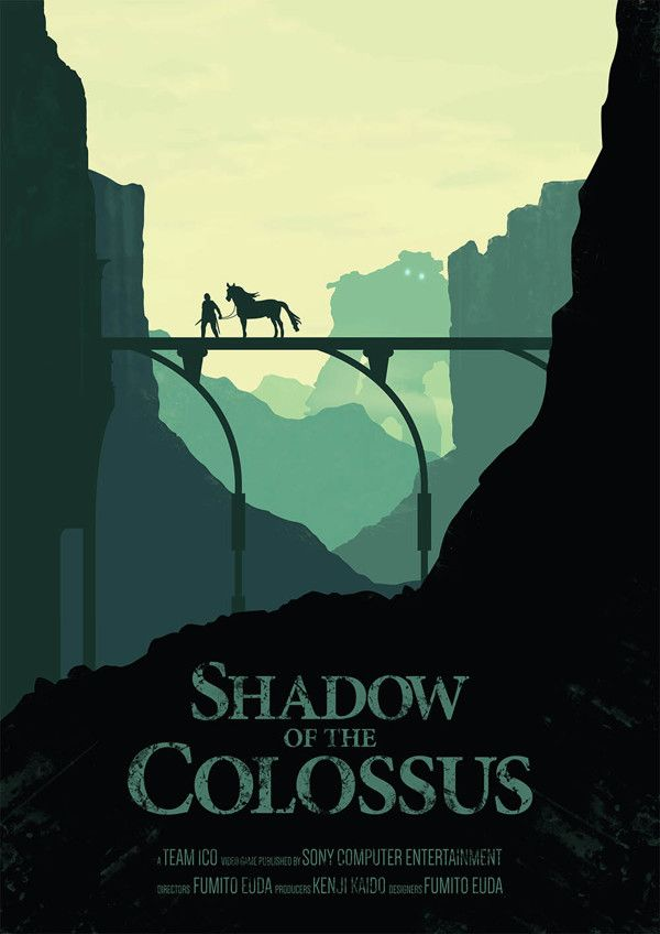 Shadow Of The Colossus, one of the best games ever created.