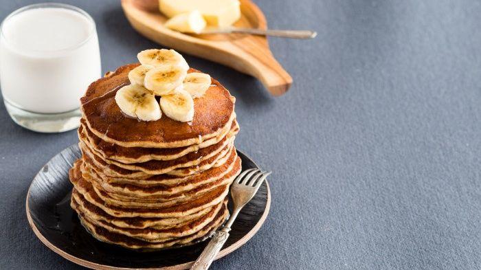 Recept: bananen pannenkoeken van gekiemd speltmeel - Holistik