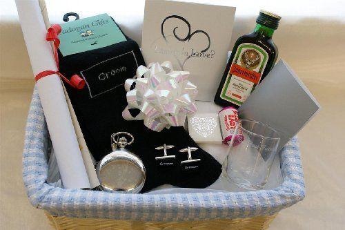 Wedding Gift Basket Uk : ... Gifts on Pinterest Dream boards, Groomsmen and Best groomsmen gifts