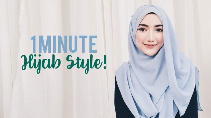 This is a quick and beautiful hijab tutorial you can try if you're already late in the morning and still wanna look good and well covered, Enjoy! https://www.youtube.com/watch?v=UI9gpvnBN-4