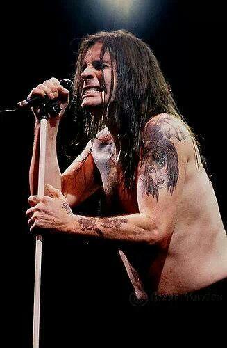 Black Sabbath-Ozzy Osbourne..................