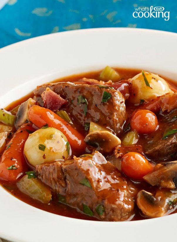 Slow-Cooker Classic Beef Stew #recipe