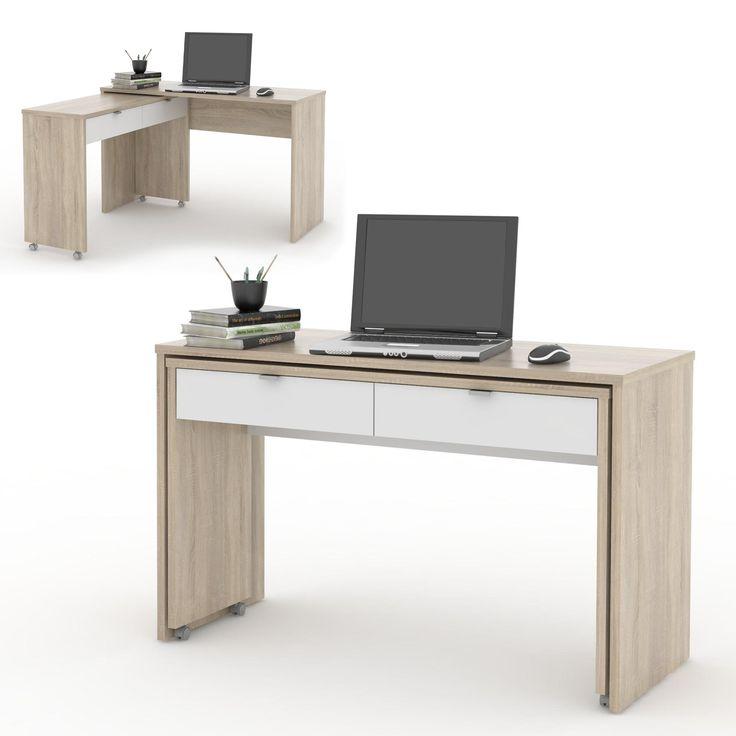 Písací stôl DUE - SCONTO NÁBYTOK
