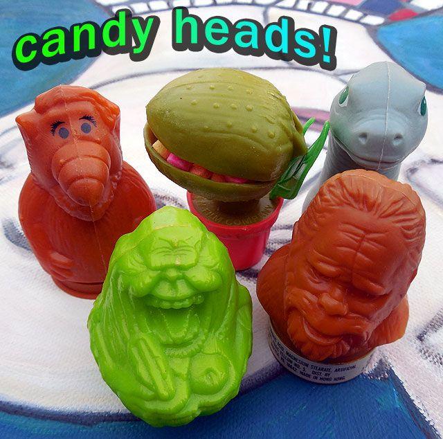1980s Candy Heads! | Dinosaur Dracula!