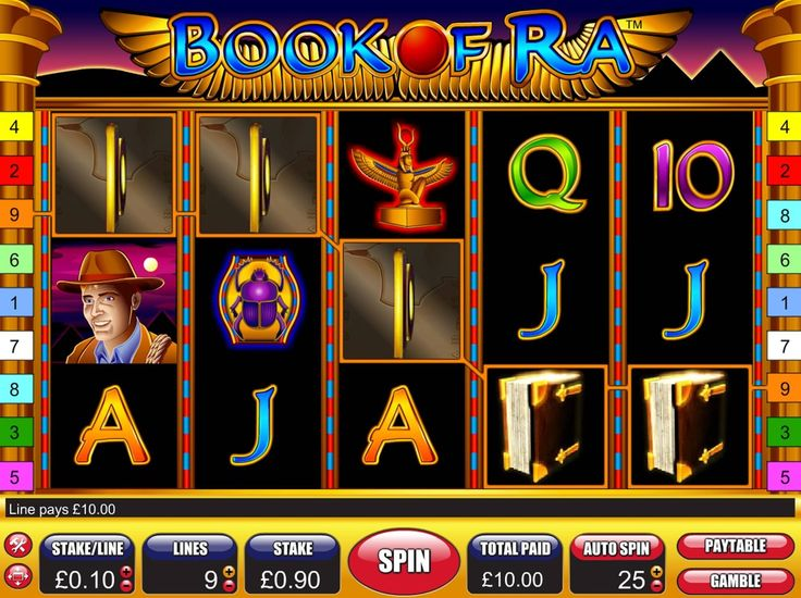 online casino gaming sites book ra