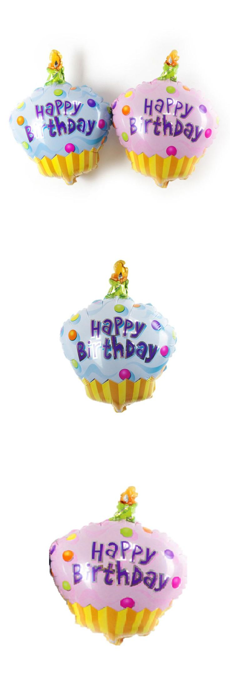 [Visit to Buy] BINGTIAN new Aluminum Foil Balloons Happy Birthday cake Balloon Decoration ceremony palloncini globos de helio infantiles #Advertisement