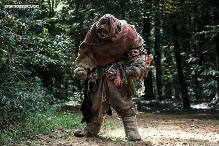 Larp Troll monster Costume, couldbeworse-comic.com,  Fantasy mythology, dwaler gamesnstuff.com, Scandinavian.