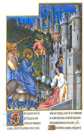 Palmzondag: Jeruzalem Binnen, With, For, Palms Sunday, Mensen Zwaaien, Komt Jeruzalem, Lectionari Years, Kinderpleinen Palmpasen, April 2015