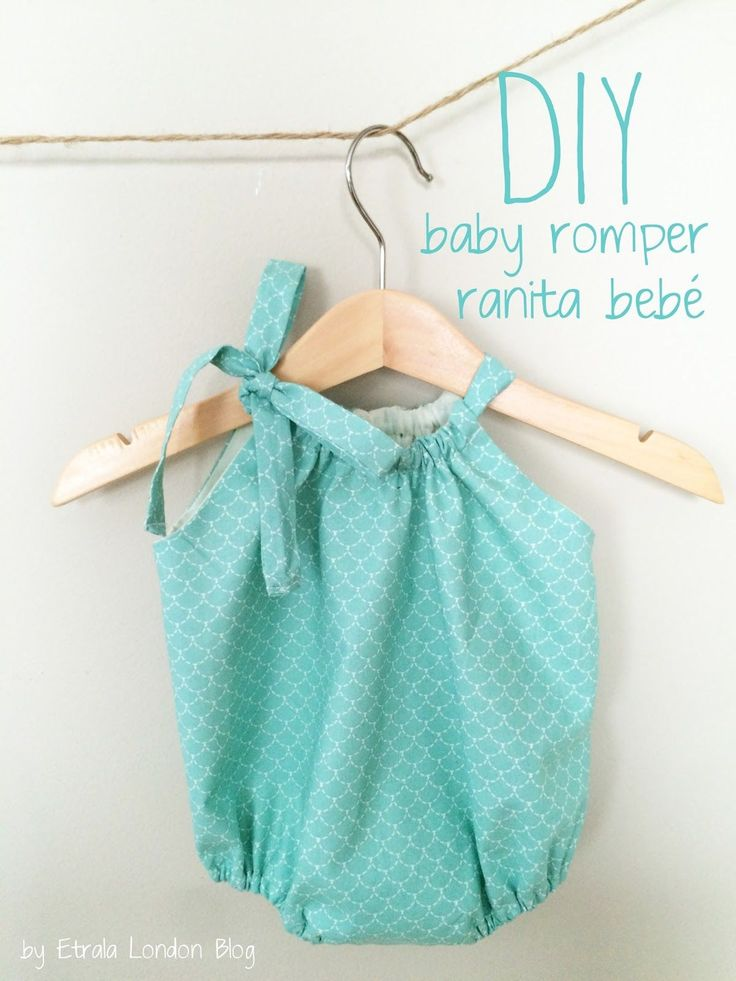 Etrala London Blog : DIY: Baby Romper (Eng / Esp)