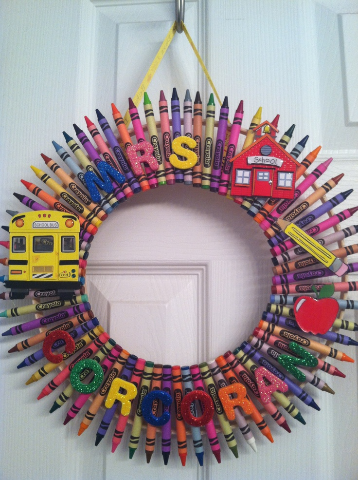 Elementary School Teacher Gift -DIY!!