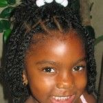 Black Children Hairstyles for Weddings