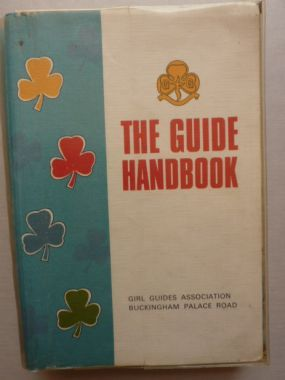 The Girl Guide Handbook came in during my time in Guides. We had a special event to celebrate it's arrival, but it was late!