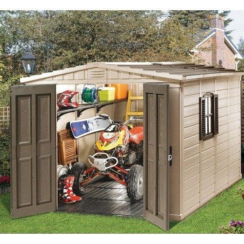 Keter Fortis Resin Storage Shed Outdoor Garden Storage
