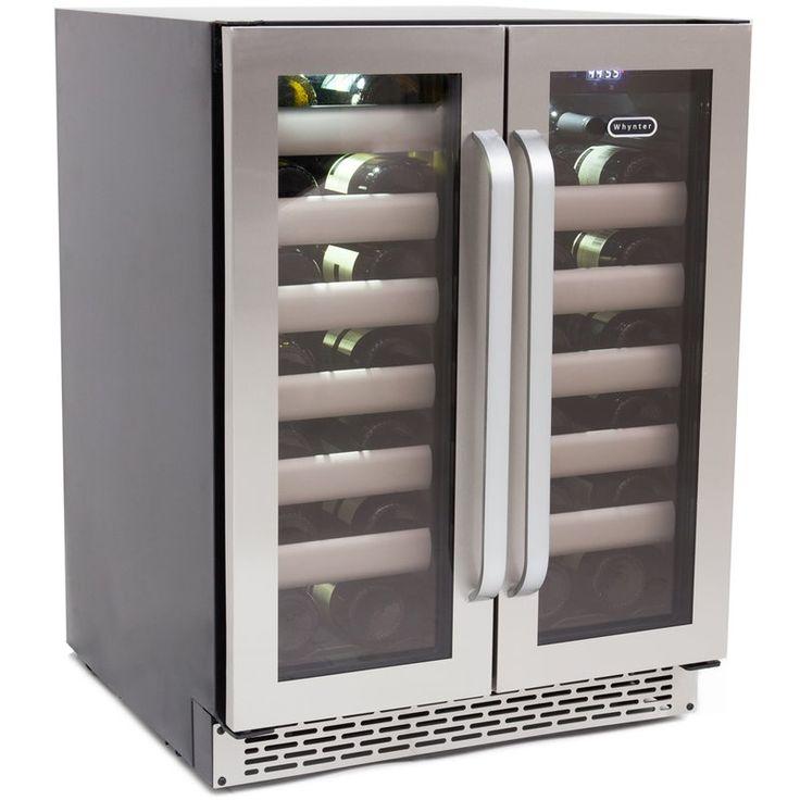 40 bottle elite dual zone freestandingbuiltin wine