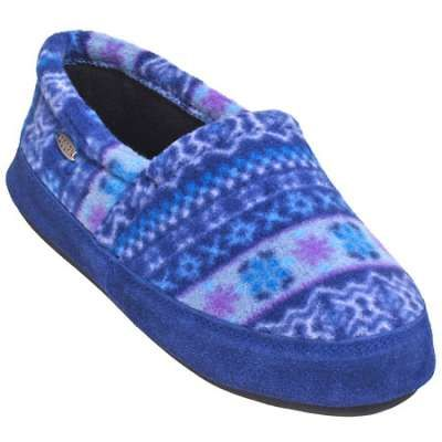 Acorn A10080 CAK Women's Icelandic Blue Polar Moc Slippers have memory foam insoles. They're just like the pillows that let you sleep better, but they're for your feet. What a perfect stocking stuffer for her! #workingperson #brandsthatwork #acorn #acornsocks #fleece #stockingstuffer #giftsforher https://workingperson.com/acorn-slippers-womens-polar-moc-icelandic-blue-slippers-a10080cak.html?utm_medium=social&utm_source=Pinteresta10080