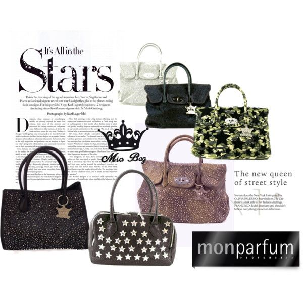MiaBag FW2014: All in the Stars! by monparfum, via Polyvore
