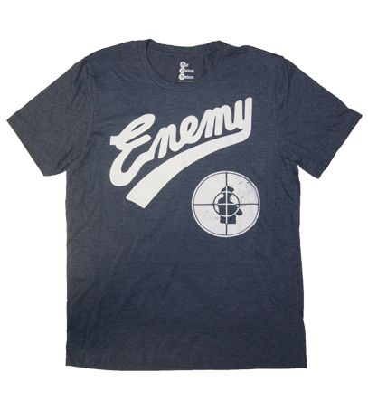 This Public Enemy T-Shirt is designed to have a vintage look. The Public Enemy shirt has quickly become a favorite, so get yours today.