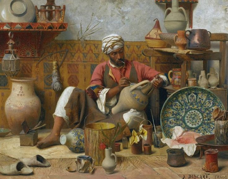 the-pottery-workshop-jean-discart-french-painter.jpg (973×768)
