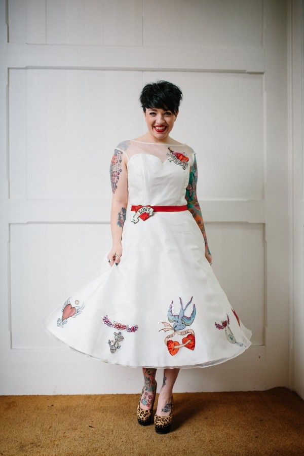 45 best Bridal Style Rockabilly images on Pinterest Marriage