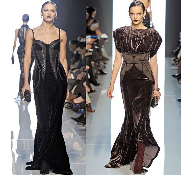 velluto tendenza moda inverno 2013