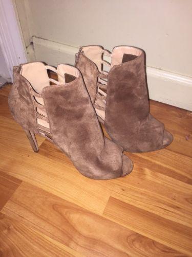 camel high heels