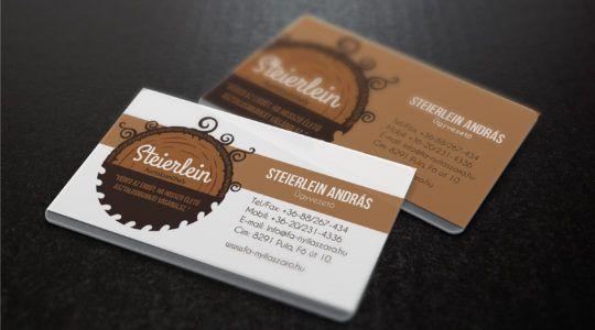 Carpenter Business Card | Asztalosműhely névjegy design