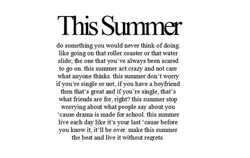 This summer, summer, quotes