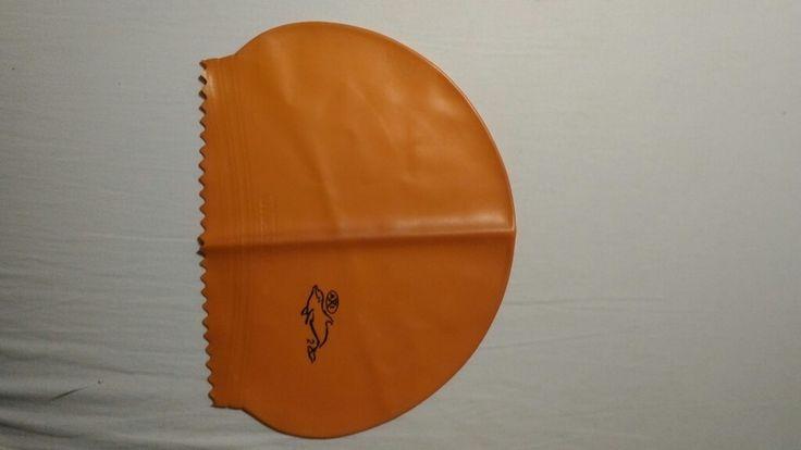 Oranžová plavecká čepička