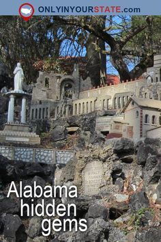 Travel | Alabama | Attractions | USA | Hidden Gems | Day Trips | Natural Beauty | Outdoors | Adventure | Places To Visit | Natural Bridge | Safari | Frank Lloyd Wright | Historic Homes | Wilderness | National Forest | Things To Do | Museums | Big Fish | Spectre | Tim Burton | Cave | Small Towns