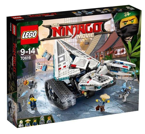 The LEGO Ninjago Movie : gros plan sur le set 70616 Ice Tank: Voici enfin quelques visuels en haute résolution du set The LEGO… #LEGO