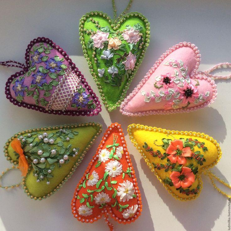 Купить Сердечки интерьерные, тильда сердечки - сердечко, сердечко подвеска, Сердечко тИльда, Сердечки Тильда