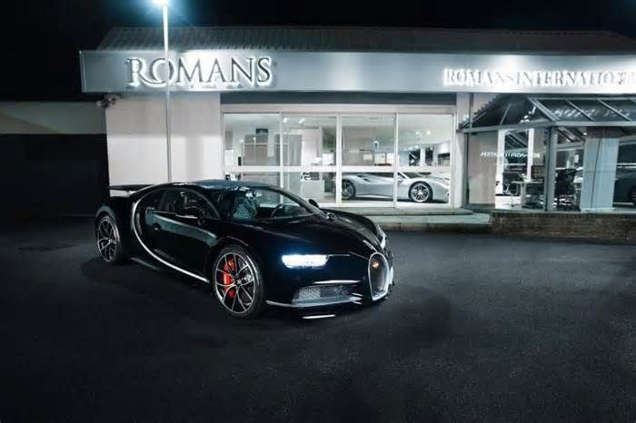 'Used' Bugatti Chiron on sale for £1.1million MORE than the supercar owner paid for it new four months ago A SAVVY supercar owner is hoping to make a tidy £1million profit when he sells his used Bugatti Chiron. Having originally purchased the car for £2.5million, the owner has now put it back on the market for £3.6million, making it the first ever