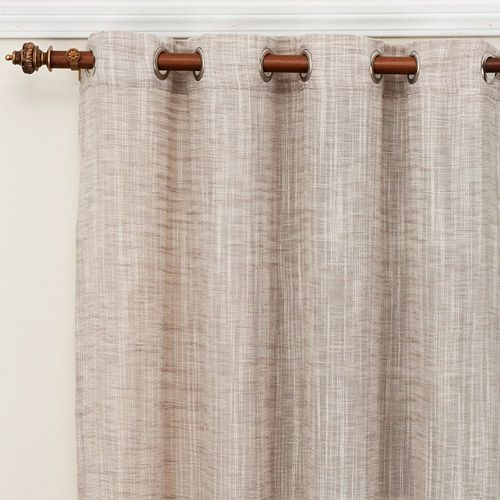 Casual Weave Curtain Panel