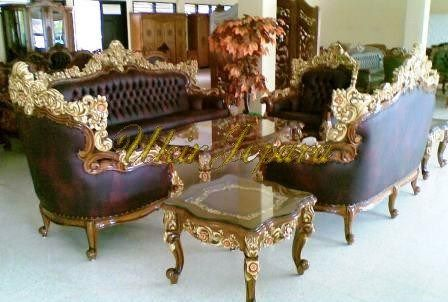 Jepara carving chairs from teak 9